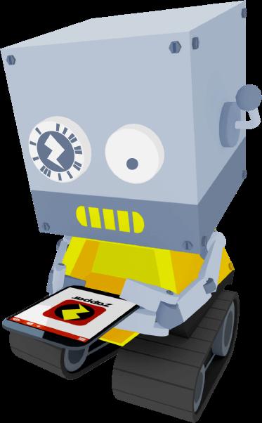 Zapbot using Zappar
