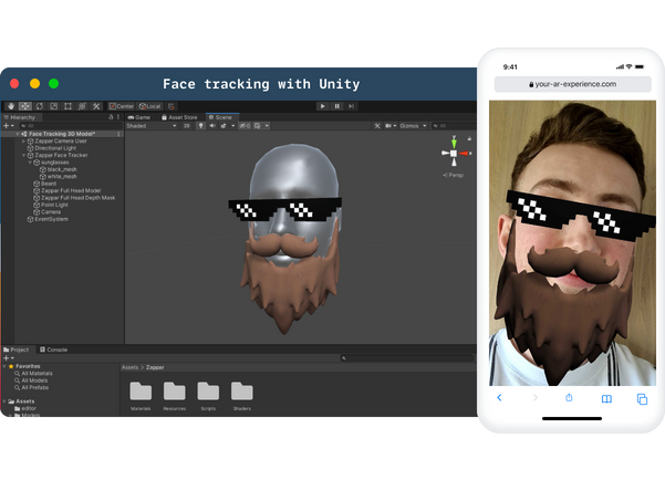 Face Tracking Unity