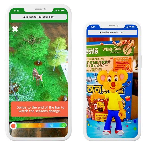 Image Tracking Phones