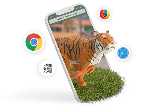 Web AR Tiger