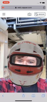 F1 HELMET