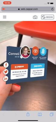 CONNELL BUSINESS CARD
