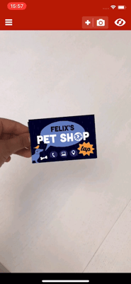Pet Shop Business Card